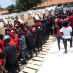 Chiefs, people of Akyem states go on demo over 'Akyem sakawa mafia' comment