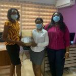 Benedicta Tiwaa Amankwah Defies a big odd as she donates to KNUST SRC